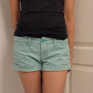 3/$25 Mint Green American Eagle Shorts